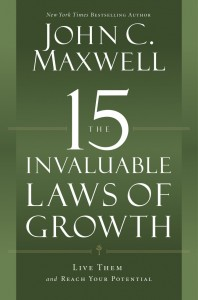 Special Live Teaching Call with John C. Maxwell on Oct. 2nd – Invaluable Laws of Growth