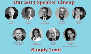 2013 Chick-Fil-A Leadercast Takeaways – Andy Stanley